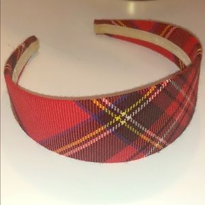 J. Crew Tartan/Plaid Headband